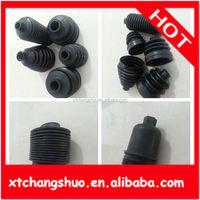 rubber bellow dust cover auto door rubber parts connector dust covers