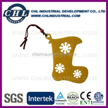 Laser cut star shape non woven decoration