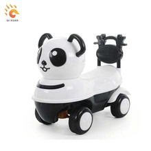 Panda style kids toy ride on cars small animals electric toys