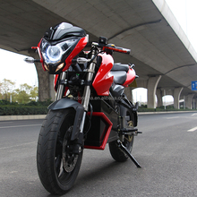 High Powerful 9000W 72V Electric Motorcycle For Adult