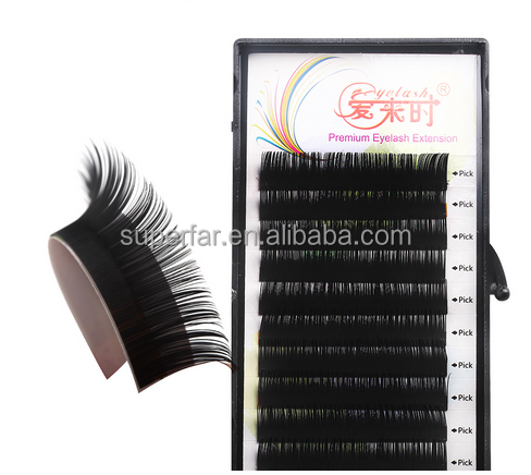 Direct sell silk lashes with private label,eyelash extensions