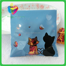 China supplier 2015 newest product popular fashion style opp customized plastic candy wrappers