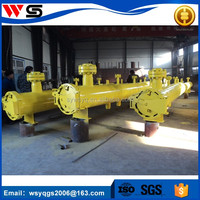 chemical pipeline equipment pigging pipeline launcher with pressure vessel end closure