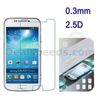 0.3mm 2.5 D Tempered Glass Guard Film Screen Protector for Samsung Galaxy S4 Zoom