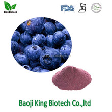 Supply water soluble Instant pure natural blueberry extract powder
