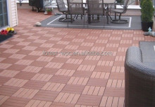 500X500mm types of timber wood wpc timber wood in china waterproof wood plastic composite DIY tile