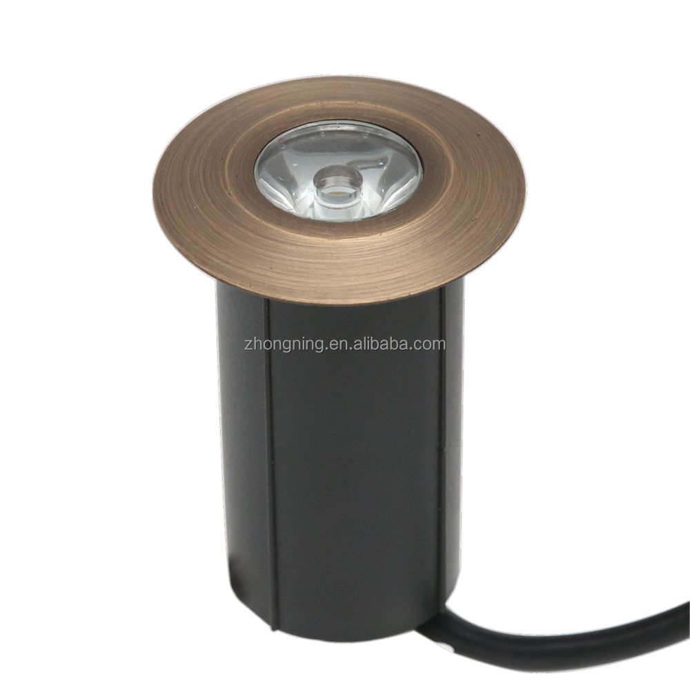 Outdoor led floor light marine grade brass waterproof 12V LED deck light