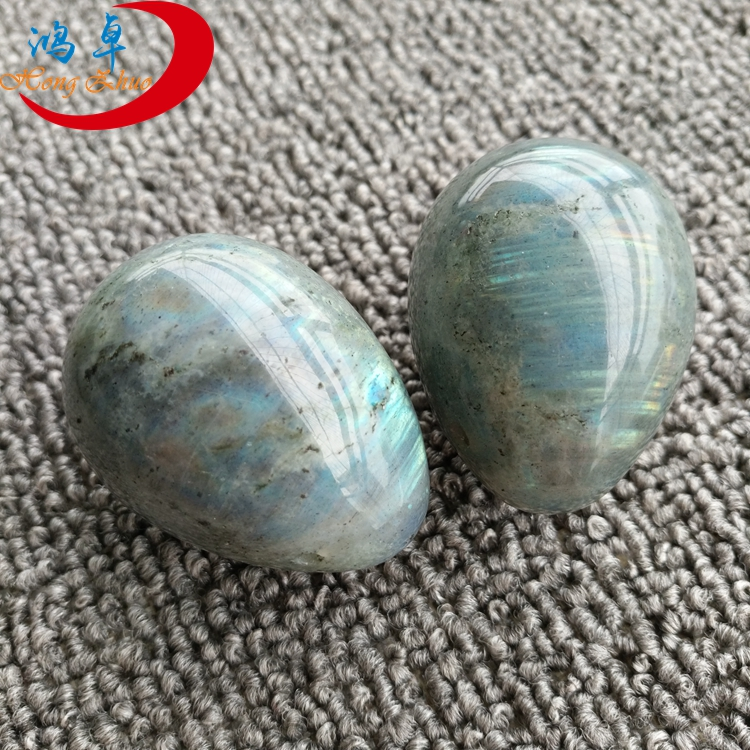 Wholesale stone Labradorite eggs for kegel women