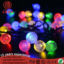 Wholesales ball RGB 100LED/10M LED light string for marriage christmas decoration