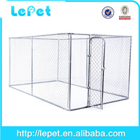2016 hot sale wholesale chain link rolling cheap dog breeding house