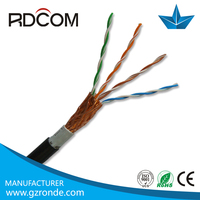 4Pairs 8 cores UTP/STP/FTP/SFTP Cat5/Cat5e/Cat6 Outdoor fire resistance network/lan/communication cable