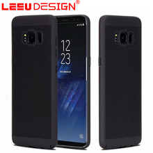Hot selling funky heat dissipation pc mobile phone case for Samsun g S8 plus