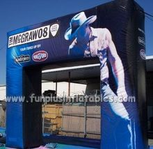 commercial grade digital printing cheap Inflatable Finish Line Arch advertising for sale P1003