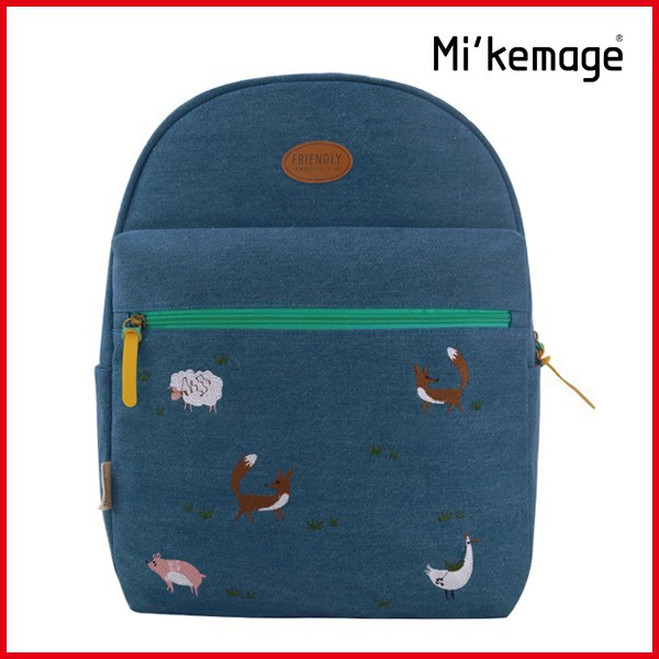 Wholesale fashion animal design Jean china backpack