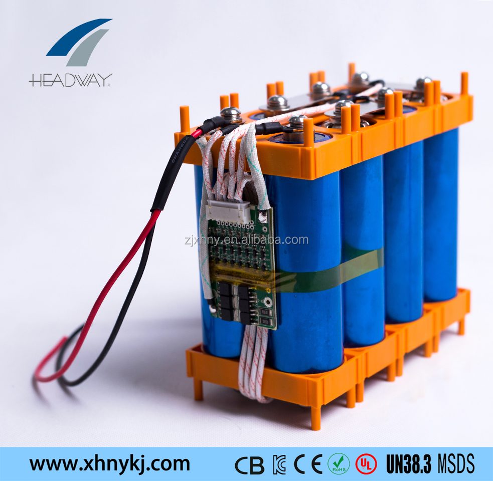 Headway 12v lithium ion battery pack 12V 20Ah for solar power battery