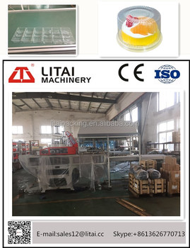 TQA-520/580 Thermoforming Machine for making BOPS,PS,PVC products