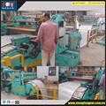 automatic steel coil straighening and slitting machine