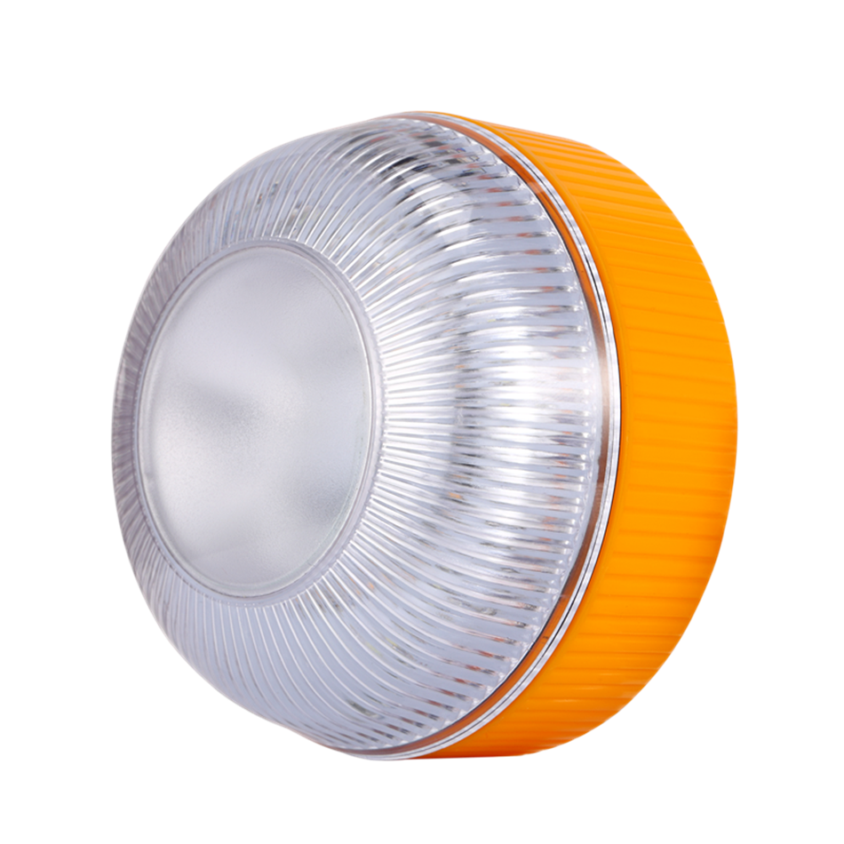 Auto orange emergency warning lights