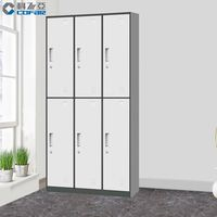 Luoyang Factory Direct Colorful Steel Workerss Industrial Almari Locker
