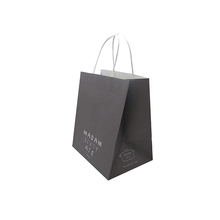 eco-friendly bag custom design wax lined paper bags