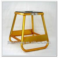 Best selling Moto Dirt Bike Lift Stand yellow motorcycle stand(HS-MP3)