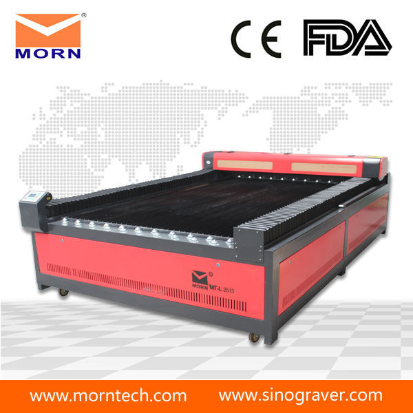 high precision big flat bed abs boards laser engraving machine