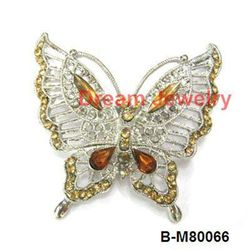 butterfly brooches jewerly newest rhineston brooch jewellery