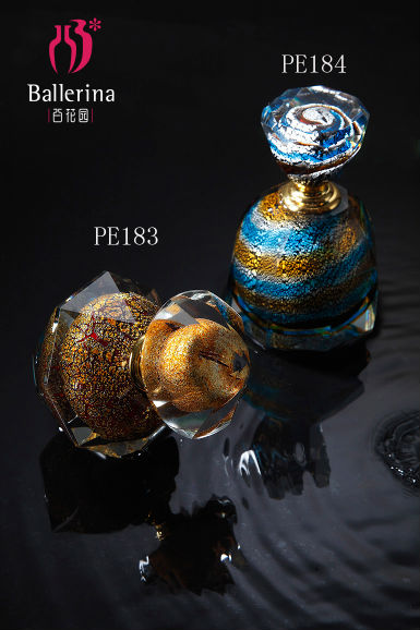Beautiful Glass Perfume Bottles for Wedding Decorations