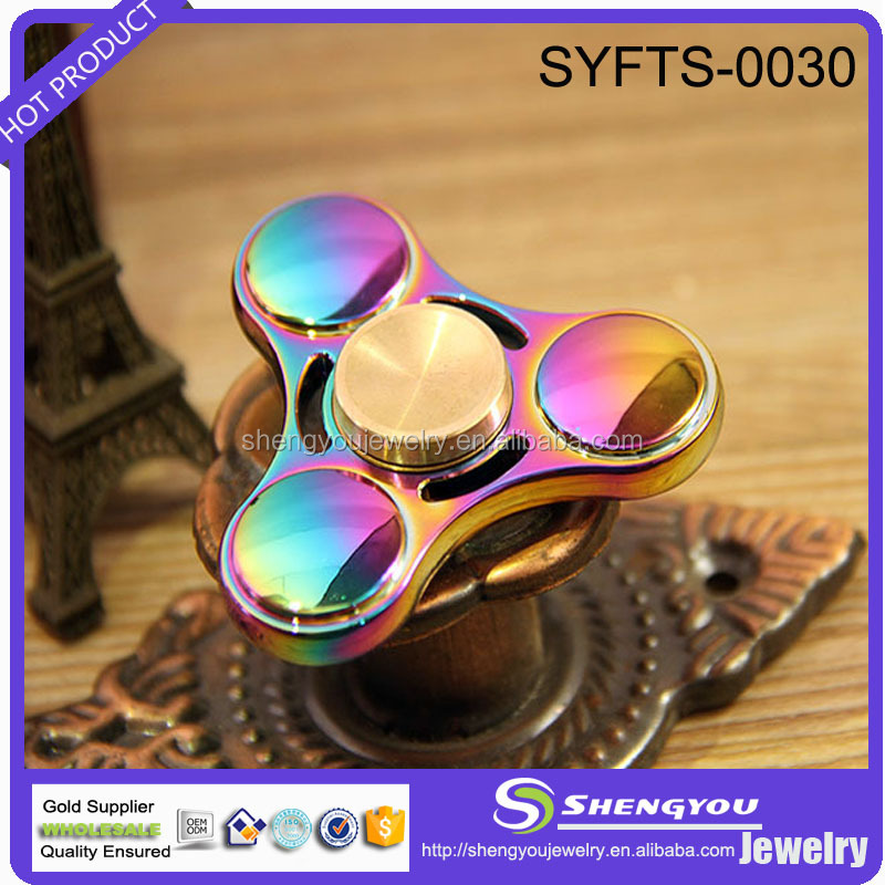 Leisure Time Pressure Relieve Fashion Hand Spinner Toy with Zinc Alloy Bearing