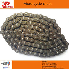 CG125 Motorcycle parts 428 motorcycle chain and sprocket kits