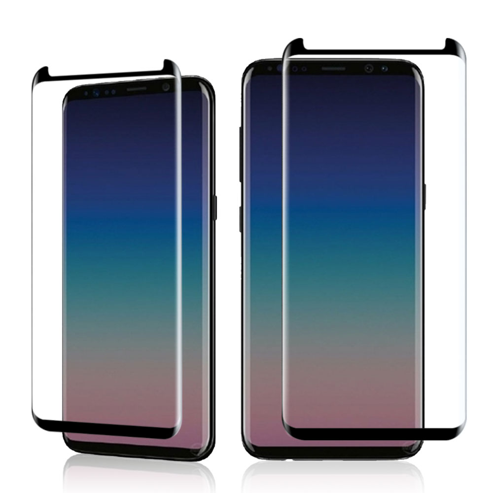 New Arrivals Strong 9H Hardness 3D Curved S9/S9 Plus Tempered Glass Screen Protector for Samsung S9