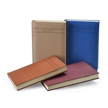 Embossing bag design binder pu leather fancy planners organizers