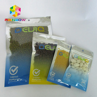 transparent see through cold seal rolls/bags for nutritional bars, snack bars, energy bars packing