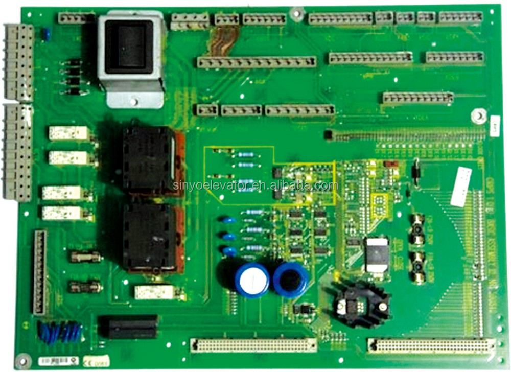Schindler Elevator MRL Communicate PC Board 591572