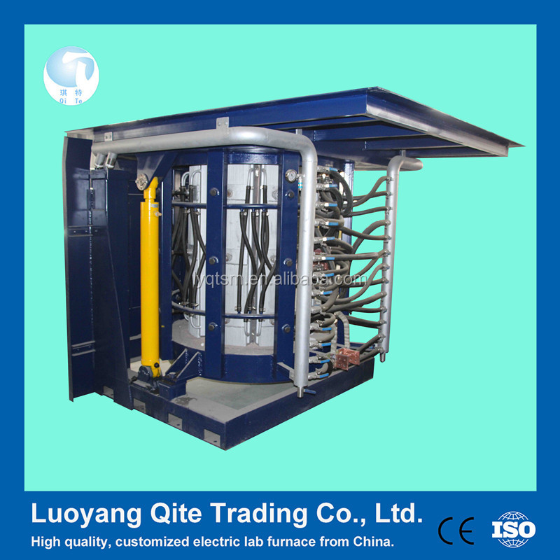 Nonferrous Metal Induction Melting Furnace For Hydraulic Steel Shell