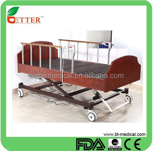 3-Function Luxurious Nursing Electric Home Care Bed