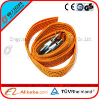 high quality CE&GS certified heavy duty tow strap