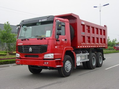 SINOTRUK HOWO 25tons tipper truck with 371hp engine