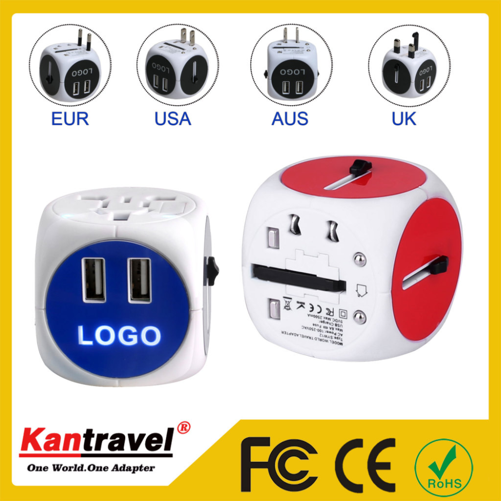 Cheap with Good Quality 2016 Most Accepted cheapest small gift items travel adaptor plug with fully CEROHS approved