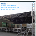 outdoor aluminum truss display roof for trade show dj stage from shanghai exhibition contracor