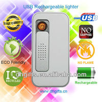 electronic USB cigarette lighter with card reader or usb memory easy to use lighters