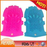 RENJIA Silicone Massage Bath Gloves glove mitt silicone hand gloves