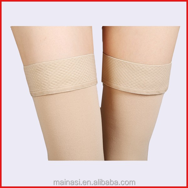 2015 Silicon Anti-slip Varicose Veins Stockings Compression Stocking