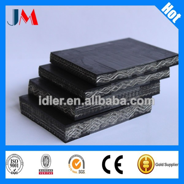 Core EP PVC PU PVG Steel Rubber Conveyor Belting