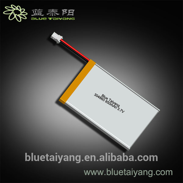 304860 Multifunctional ultra thin lithium-ion polymer battery for wholesales