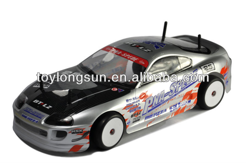 2.4G 1/10 Scale Electric Powered On-Road RC Drift Car Customized Manufacture