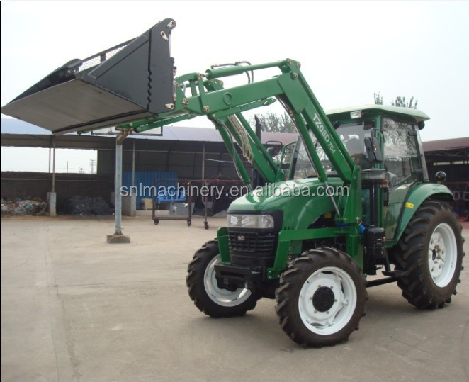 30hp 4WD farm tractor with front end loader