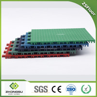 temporary outdoor flooring PP kids playground flooring