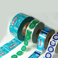 food grade plastic cup sealing roll film for jelly packaging,milk tea