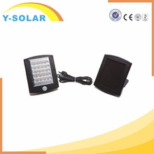 Y-SOLAR SL1-22 2016 Hot sale NEW Type 36pcs LED Solar Power Light 500lm Pir Motion Sensor Light with Competitive Price